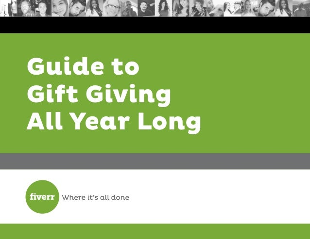 Guide to Gift Giving All Year Long
