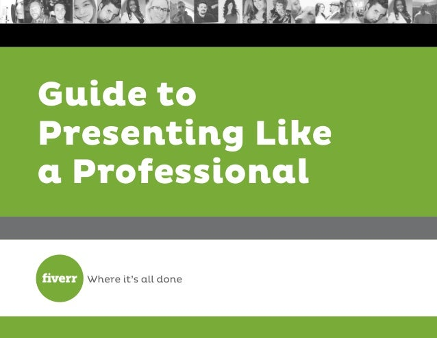 Guide to Presenting Like a Professional