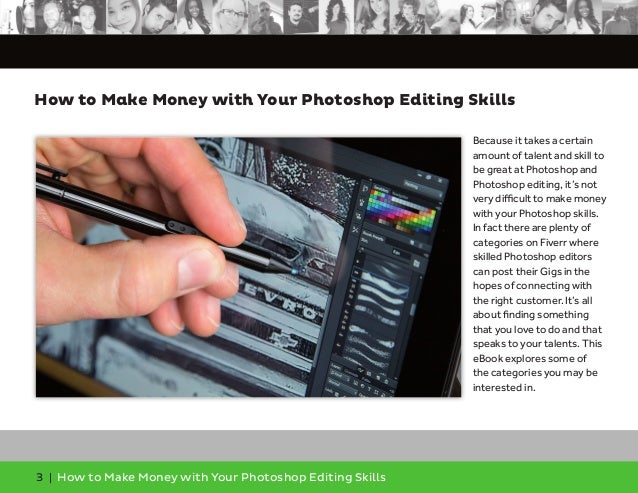 How to Make Money With Your Photoshop Editing Skills Slide 3