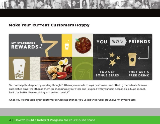 How To Build A Referral Program For Your Online Store - Software to create invoices free download starbucks online store