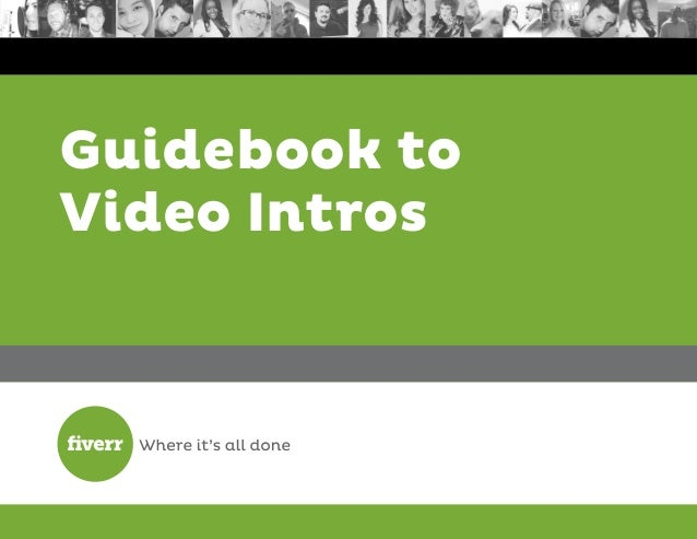 Guidebook to Video Intros