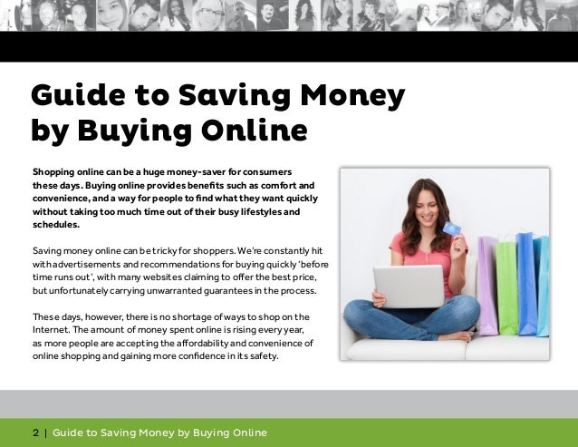 Guide to Saving Money by Buying Online Slide 2