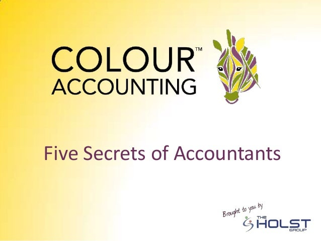 Five Secrets of Accountants