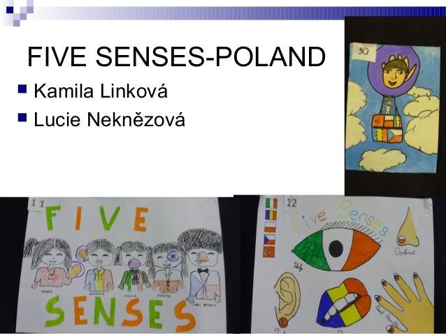 FIVE SENSES-POLAND Kamila Linková  Lucie Neknězová 