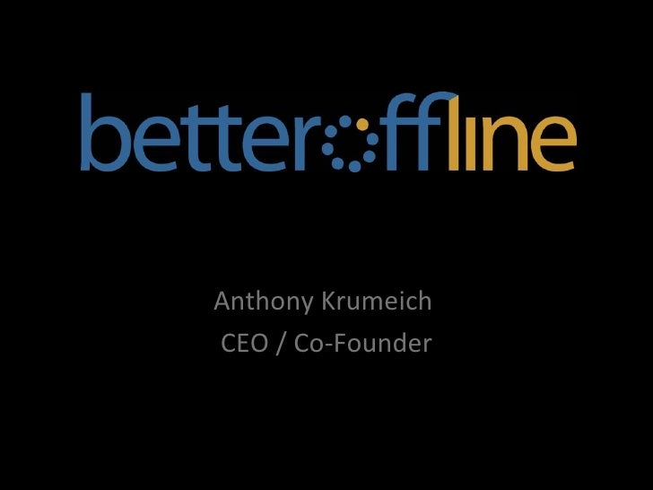 Anthony Krumeich  CEO / Co-Founder