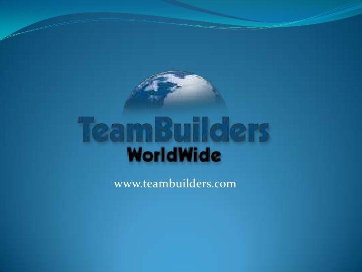 www.teambuilders.com<br />