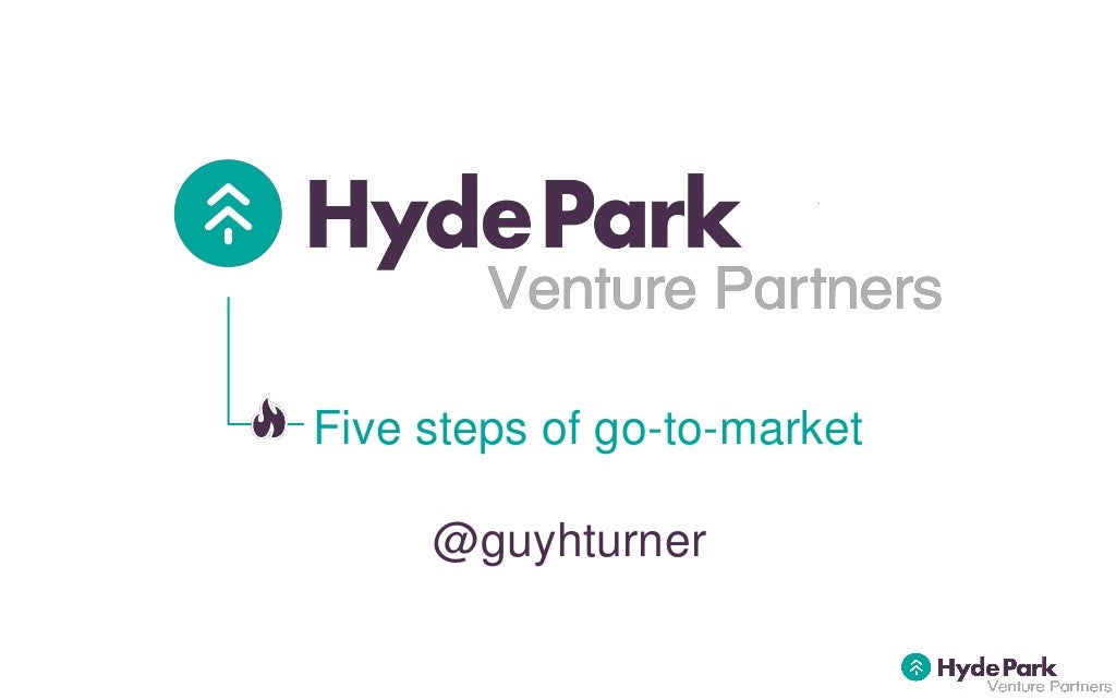 Five steps of startup go to-market