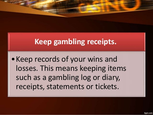 Irs gambling publication