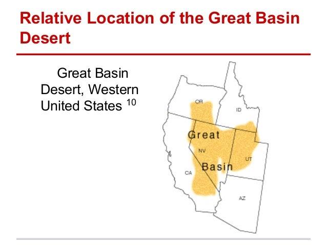 Five themes great basin desert