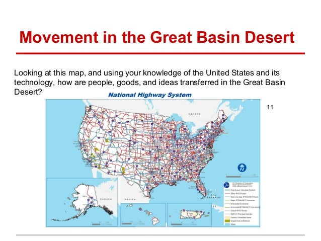Great Basin Desert Map