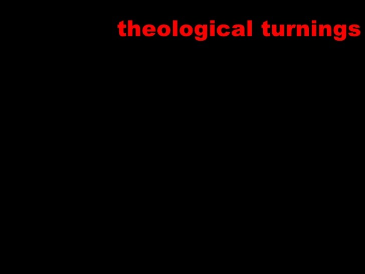theological turnings