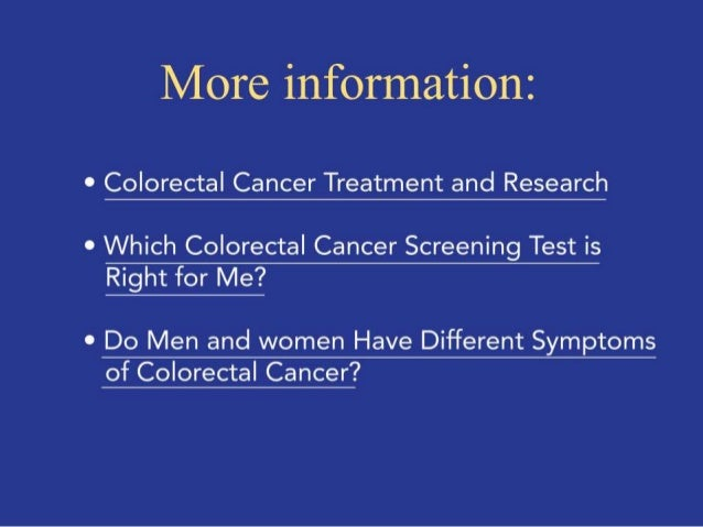 Five Things You Need to Know About Colorectal Cancer Prevention