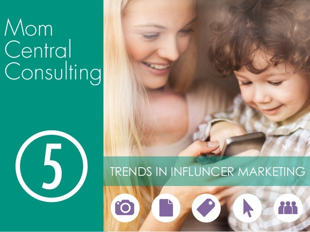 5  TRENDS IN INFLUNCER MARKETING