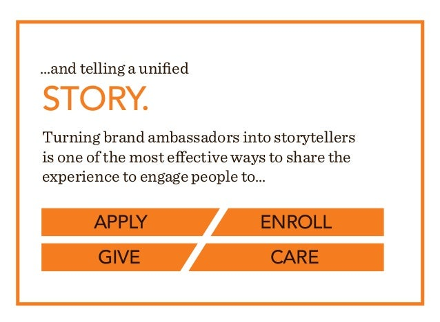 Turning brand ambassadors into storytellers is one of the most effective ways to share the experience to engage people to....