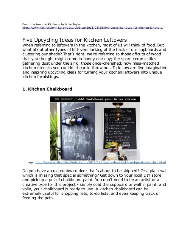 Five Upcycling Ideas for Kitchen Leftovers on painting for kitchen, cabin plans for kitchen, house colors for kitchen, paint ideas bath, paint ideas garage, decorations for kitchen, modern for kitchen, paint ideas bedroom, paint ideas interior, diy for kitchen, paint kitchen cabinets, gray for kitchen, renovations for kitchen, plumbing for kitchen, paint kitchen backsplash ideas, paint ideas furniture, paint kitchen colors, floor for kitchen, bath for kitchen, paint ideas living room,