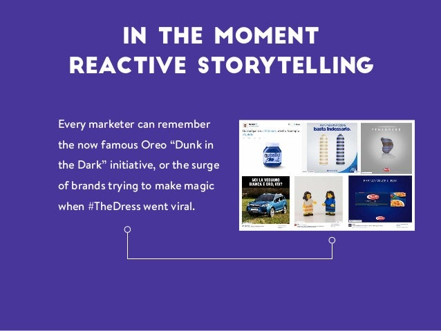 """Every marketer can remember the now famous Oreo """"Dunk in the Dark"""" initiative, or the surge of brands trying to make magic..."""