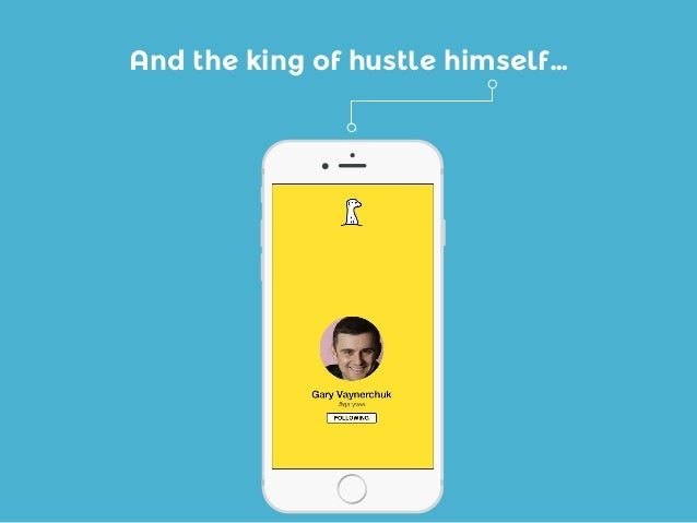 And the king of hustle himself…