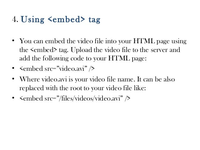 how to find the embed code on a video