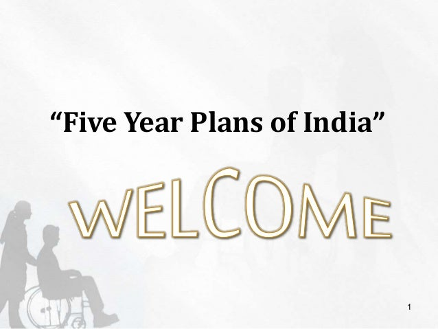 "1 ""Five Year Plans of India"""
