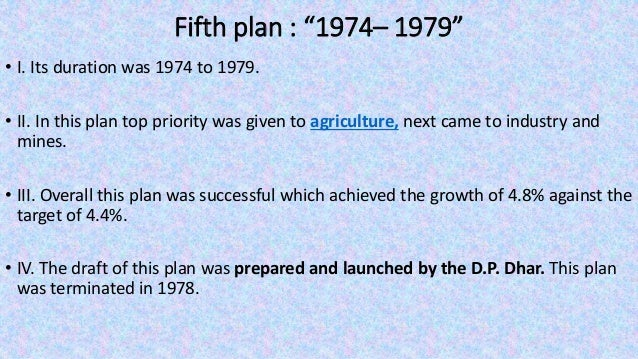 """Eighth plan : """"1992– 1997"""" • Its duration was from 1992 to 1997. • II. In this plan the top priority was given to developm..."""