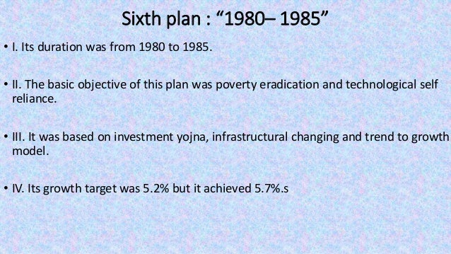 """Ninth plan : """"1997– 2002"""" • Its duration was from 1997 to 2002. • II. The main focus of this plan was """"growth with justice..."""