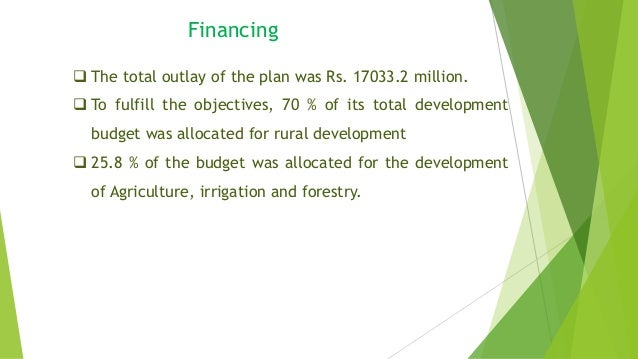 the 8th five year plan Objectives and orientation 111 the launching of the first five year plan in april 1951 initiated a process of development aimed not only at.