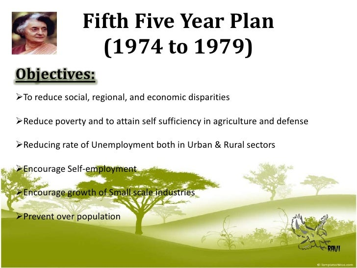five year plans of india By coincidence, india has its own 12th five-year plan (2012-2016), but prime minister narendra modi abolished the old planning commission and replaced it with the national institute for transforming india, a think tank for the indian government the institute is different from the planning commission in.