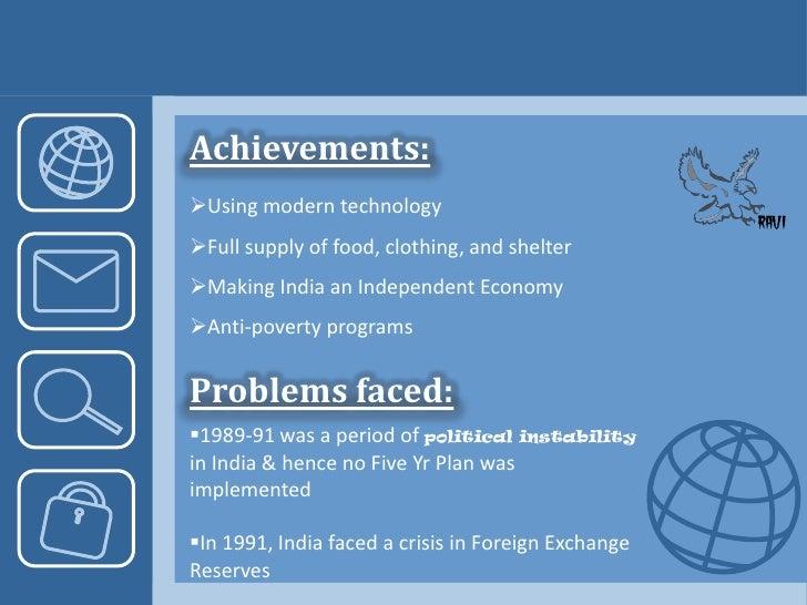 6<br />Achievements:<br /><ul><li>Five steel mills at Bhilai, Durgapur, and Jamshedpur