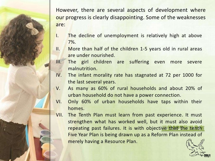 Third Five Year Plan (1961-1966)<br />7<br />Objectives:<br /><ul><li>More stressto agriculture