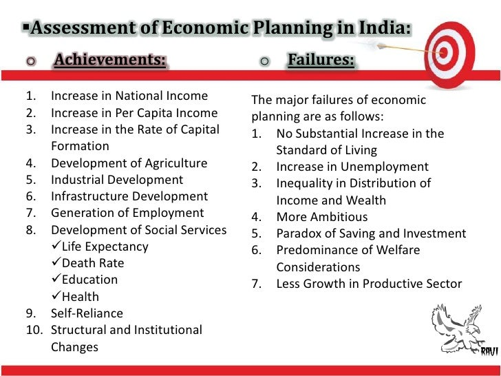 failures of five year plans in india