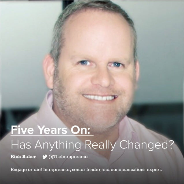 14   Five Years of Social Customer Care   #SocialCustCare Five Years On: Has Anything Really Changed? Rich Baker @TheIntra...
