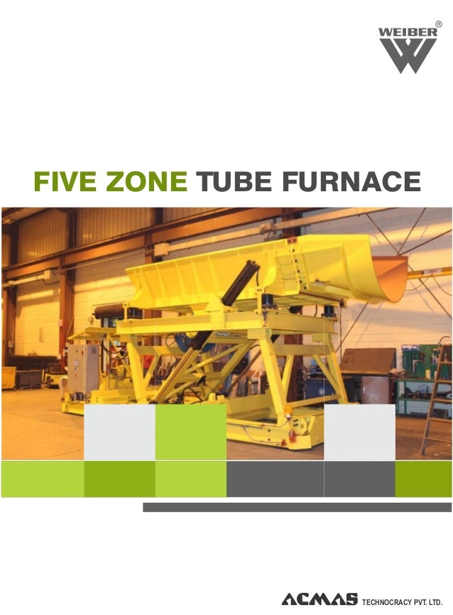R TECHNOCRACY PVT. LTD. FIVE ZONE TUBE FURNACE
