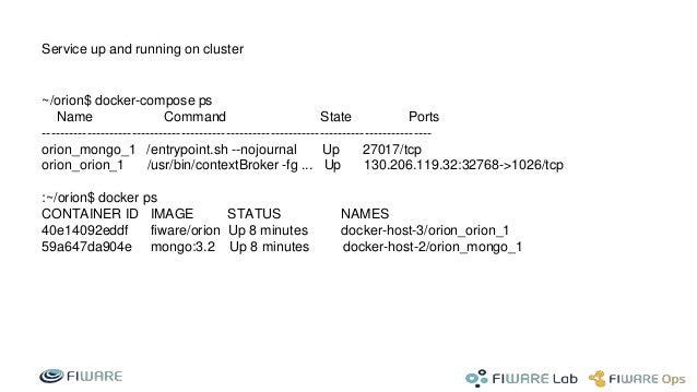Fiware docker container service multi tenant isolation and user defin…