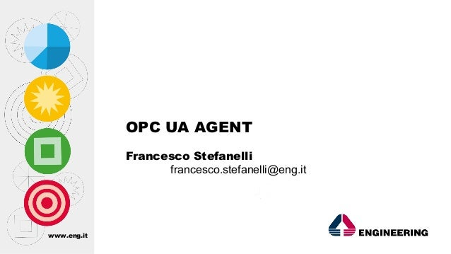 www.eng.it OPC UA AGENT Francesco Stefanelli francesco.stefanelli@eng.it