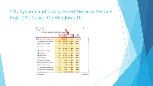 How To Fix The Windows 10 System and Compressed Memory Service High C…