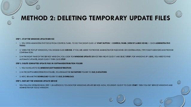 how to fix windows update in windows 10