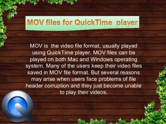 How To Fix Quicktime Player On Mac