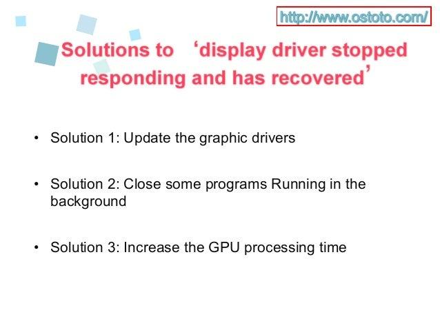 AMD Display Driver