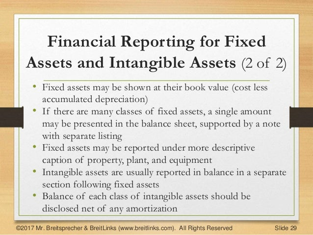 accounting  fixed  u0026 intangible assets