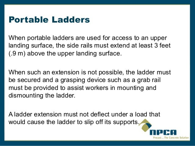 ... Ladder Placed At A Horizontal Angle Of 75.5 Degrees; 22.  The Ladders