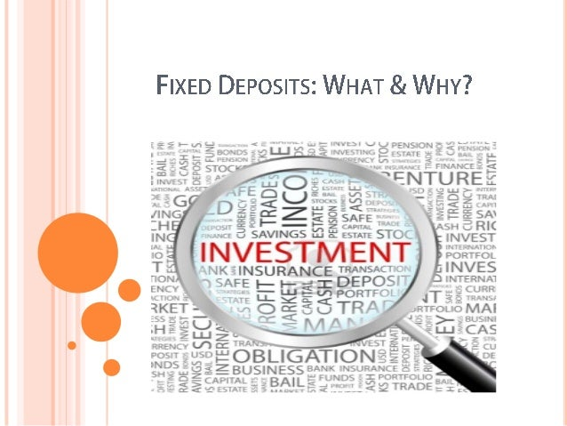     An investor, or depositor, will deposit a lump-sum cash amount with a bank or equivalent enterprise, for a pre-deter...