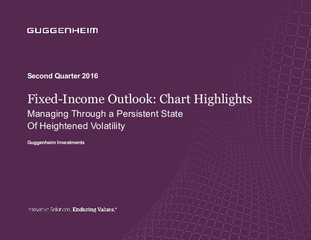 10 Macroeconomic Forecasts for 2016 Fixed-Income Outlook: Chart Highlights Managing Through a Persistent State Of Heighten...