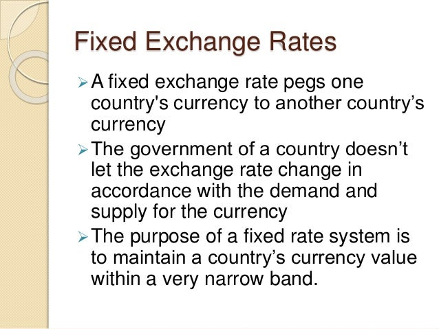 Use 'floating exchange rate' in a Sentence
