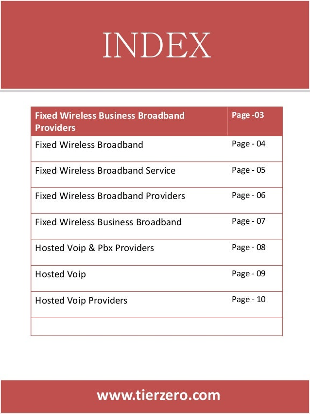 Commercial voip & internet service providers