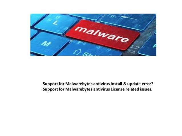 Fix errors with malwarebytes virus removal tool 1 800-644-5716