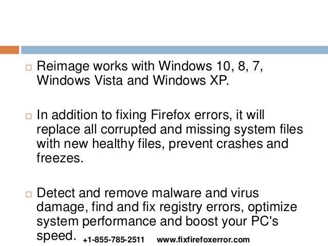 Fix Firefox Error | +1-855-785-2511
