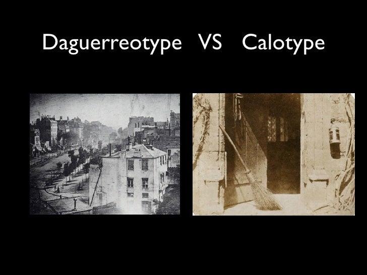 calotype daguerreotype