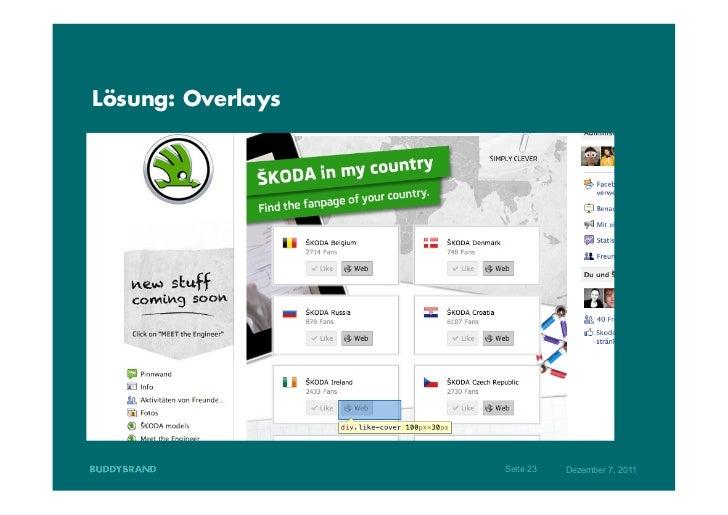 Lösung: Overlays                   Seite 23   Dezember 7, 2011