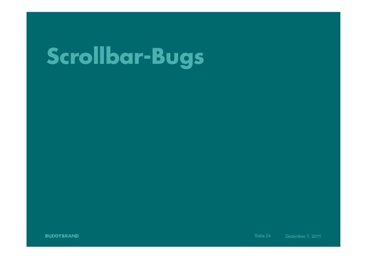 Scrollbar-Bugs                 Seite 24   Dezember 7, 2011