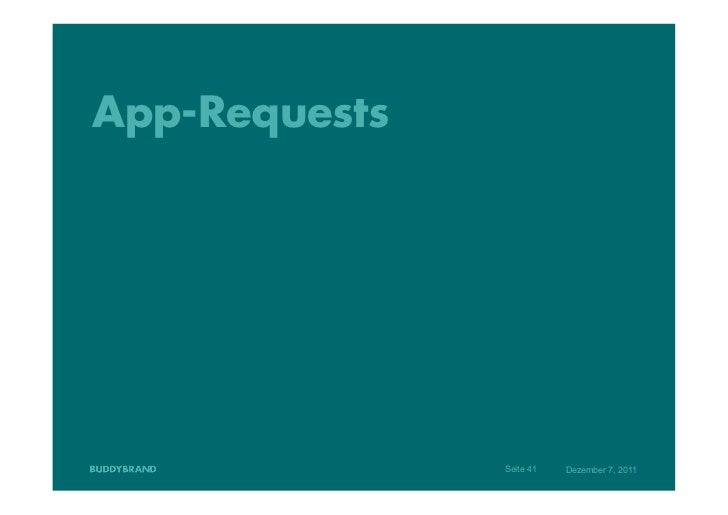 App-Requests               Seite 41   Dezember 7, 2011